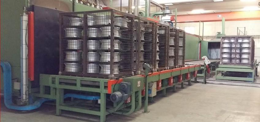 Solubilizzazione e invecchiamento alluminio